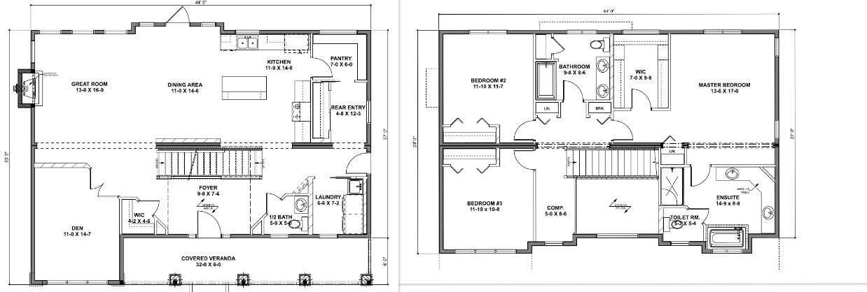 The Gem Floor Plan
